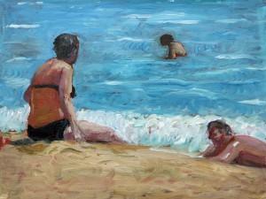 Stranden 5/ The Beach 5