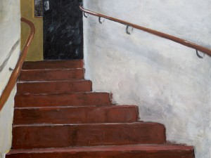 Källartrappan/ The celler stairs