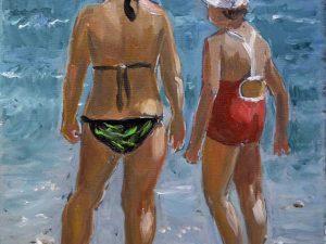 På stranden/On the beach